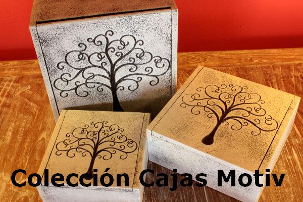 Coleccion Cajas Motiv