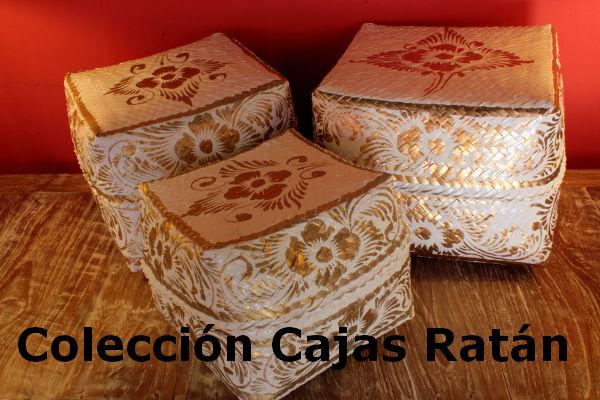 Coleccion Cajas Ratan